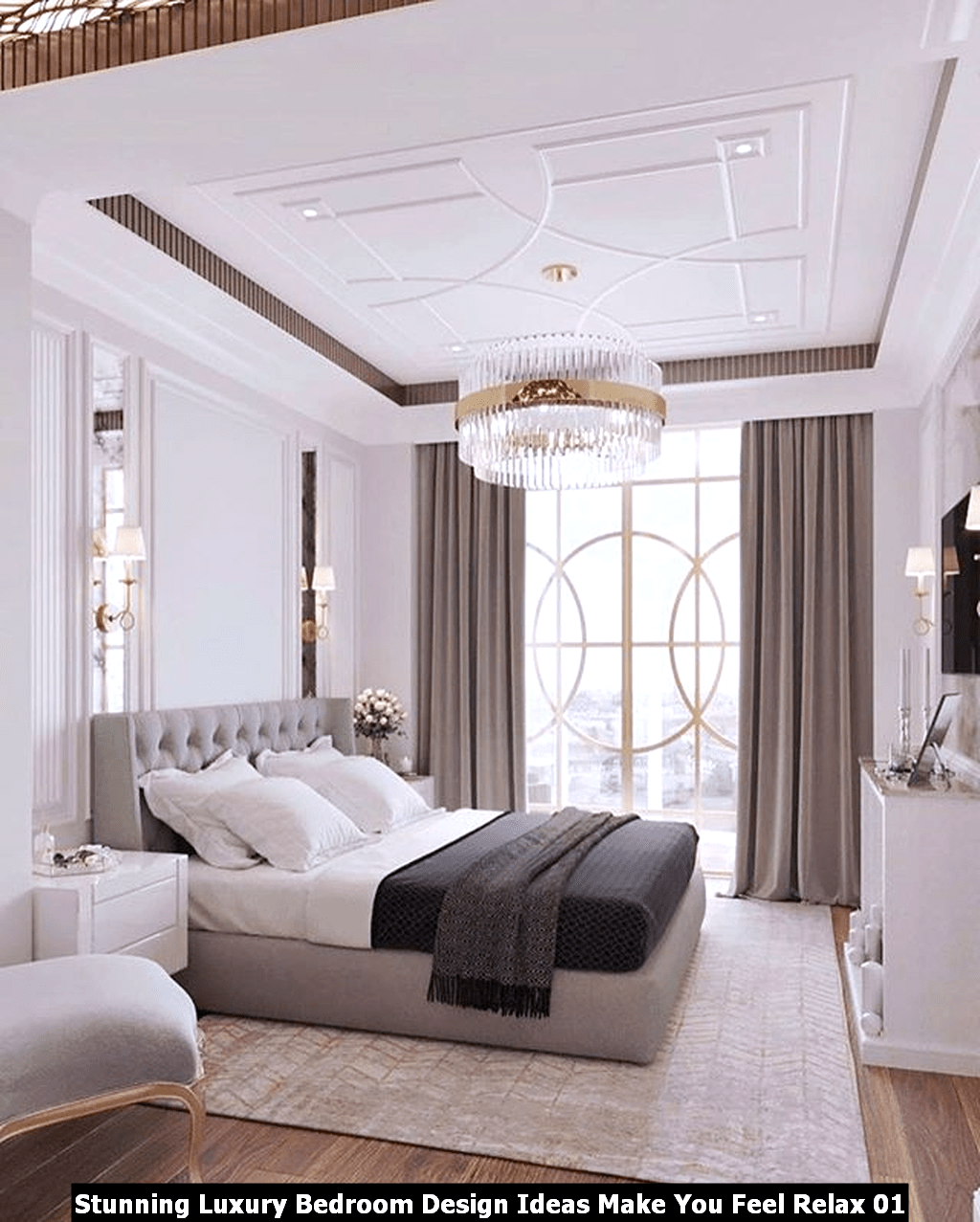 Stunning Luxury Bedroom Design Ideas Make You Feel Relax 01