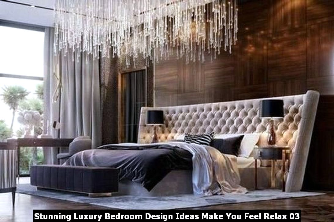 Stunning Luxury Bedroom Design Ideas Make You Feel Relax 03