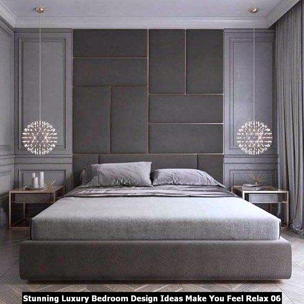 Stunning Luxury Bedroom Design Ideas Make You Feel Relax 06