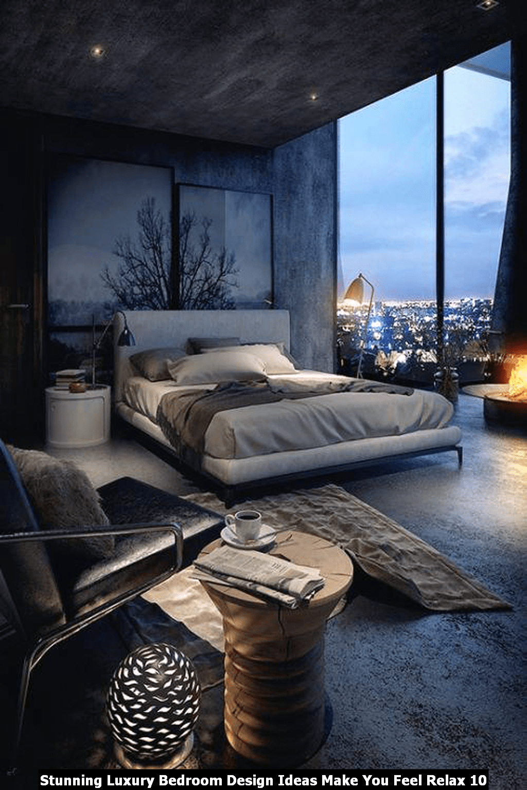 Stunning Luxury Bedroom Design Ideas Make You Feel Relax 10