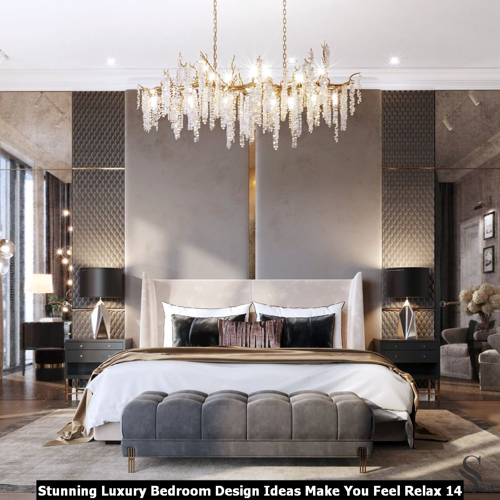Stunning Luxury Bedroom Design Ideas Make You Feel Relax 14