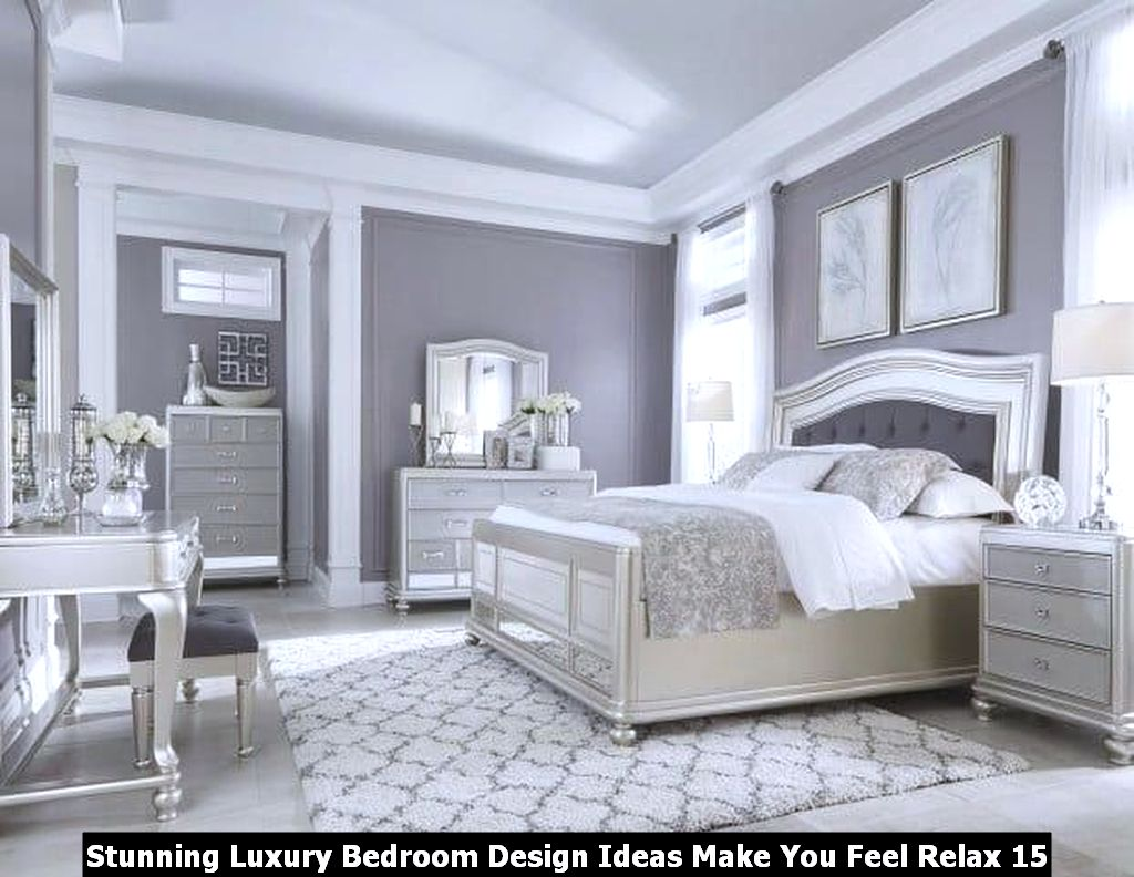Stunning Luxury Bedroom Design Ideas Make You Feel Relax 15
