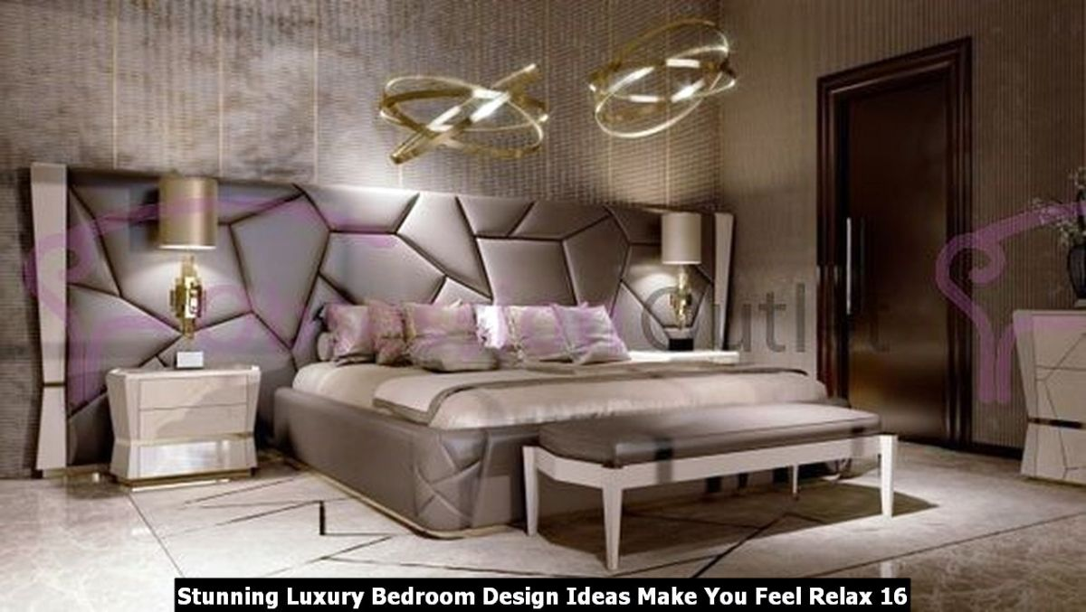 Stunning Luxury Bedroom Design Ideas Make You Feel Relax 16