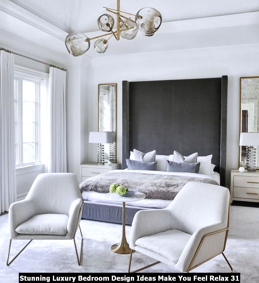 Stunning Luxury Bedroom Design Ideas Make You Feel Relax 31