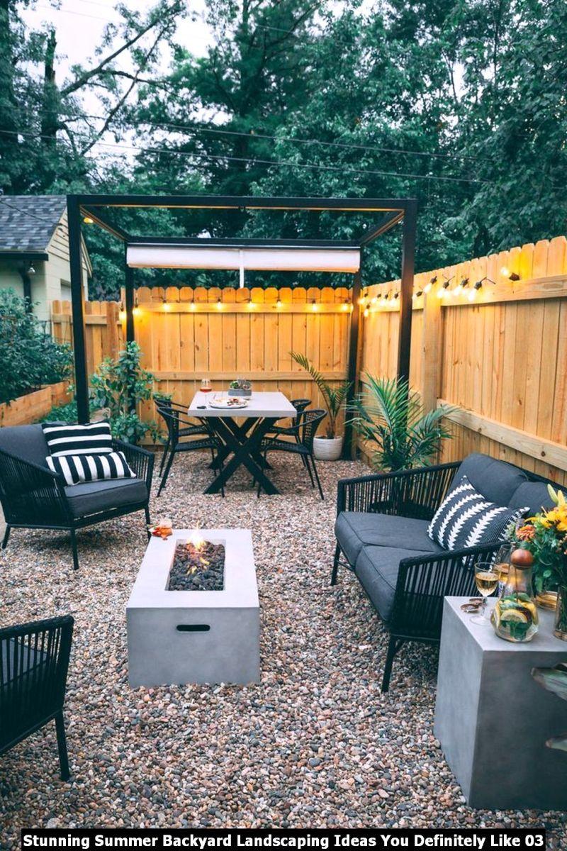 Stunning Summer Backyard Landscaping Ideas You Definitely Like 03