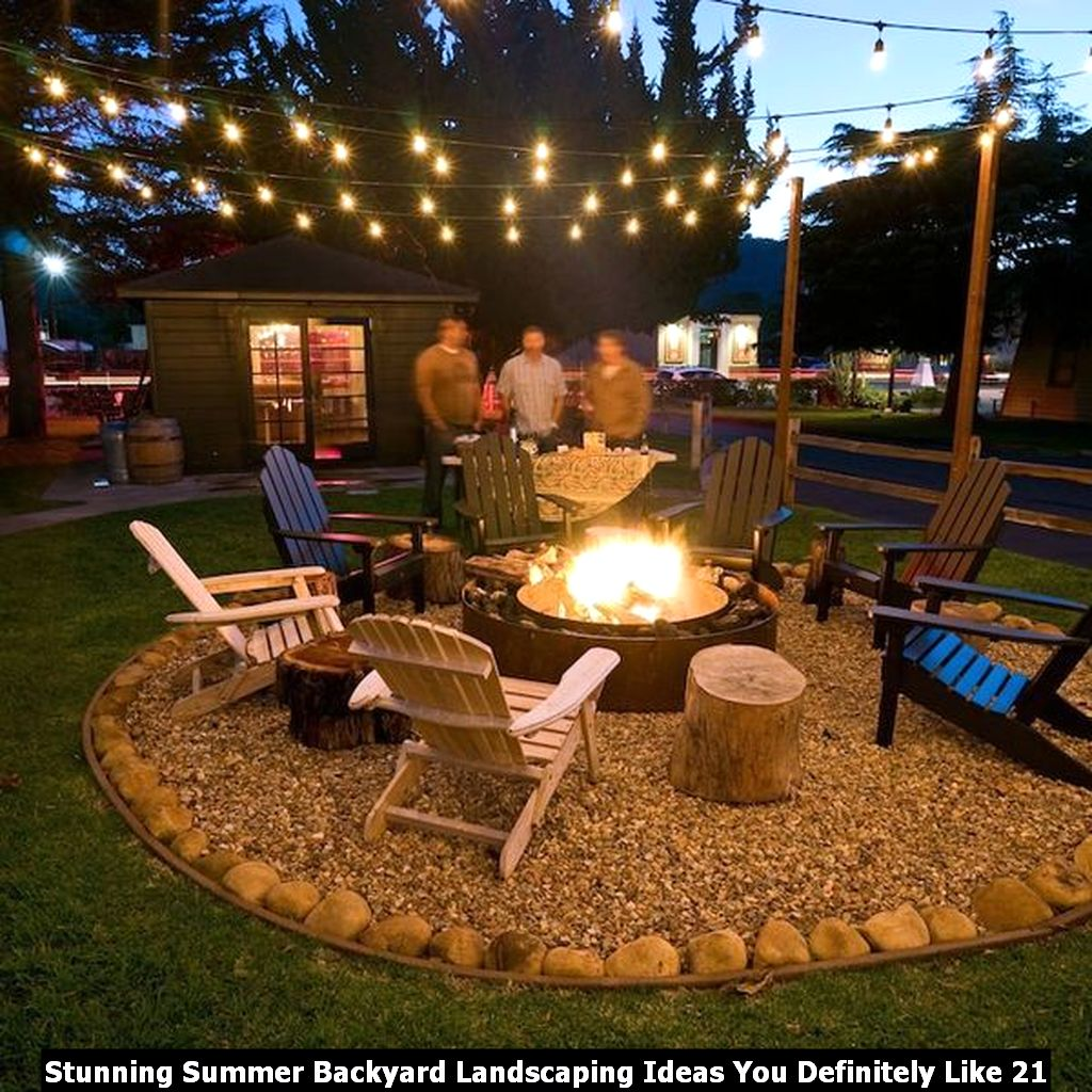 Stunning Summer Backyard Landscaping Ideas You Definitely Like 21
