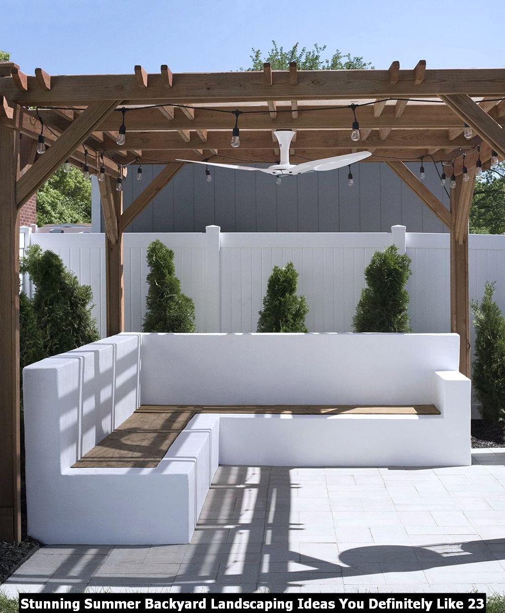 Stunning Summer Backyard Landscaping Ideas You Definitely Like 23