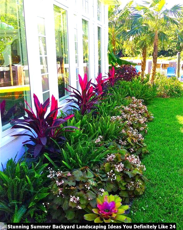 Stunning Summer Backyard Landscaping Ideas You Definitely Like 24