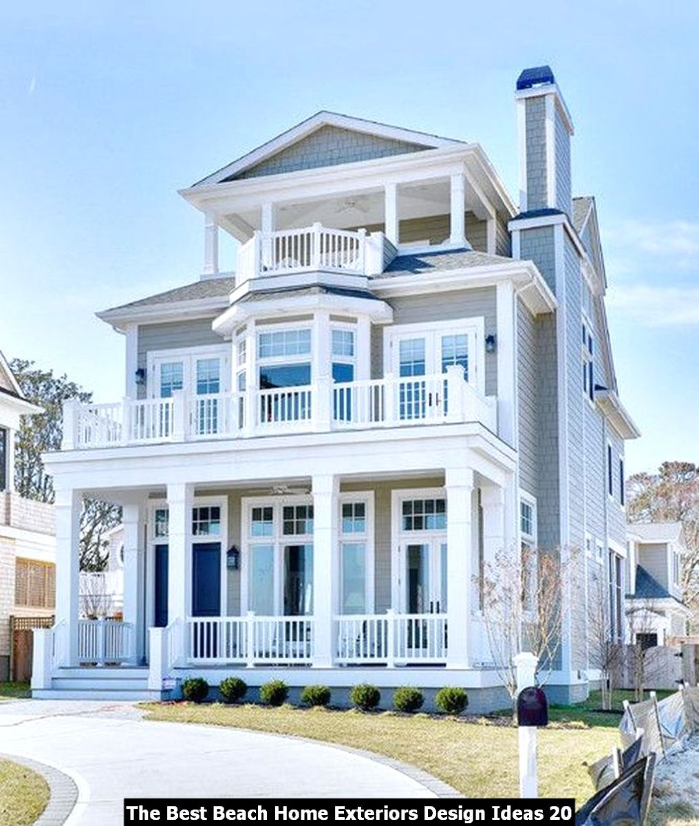 The Best Beach Home Exteriors Design Ideas 20