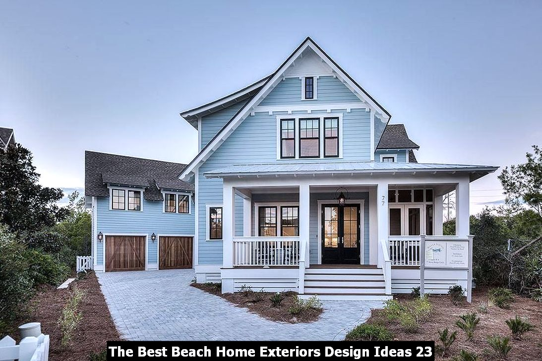 The Best Beach Home Exteriors Design Ideas 23