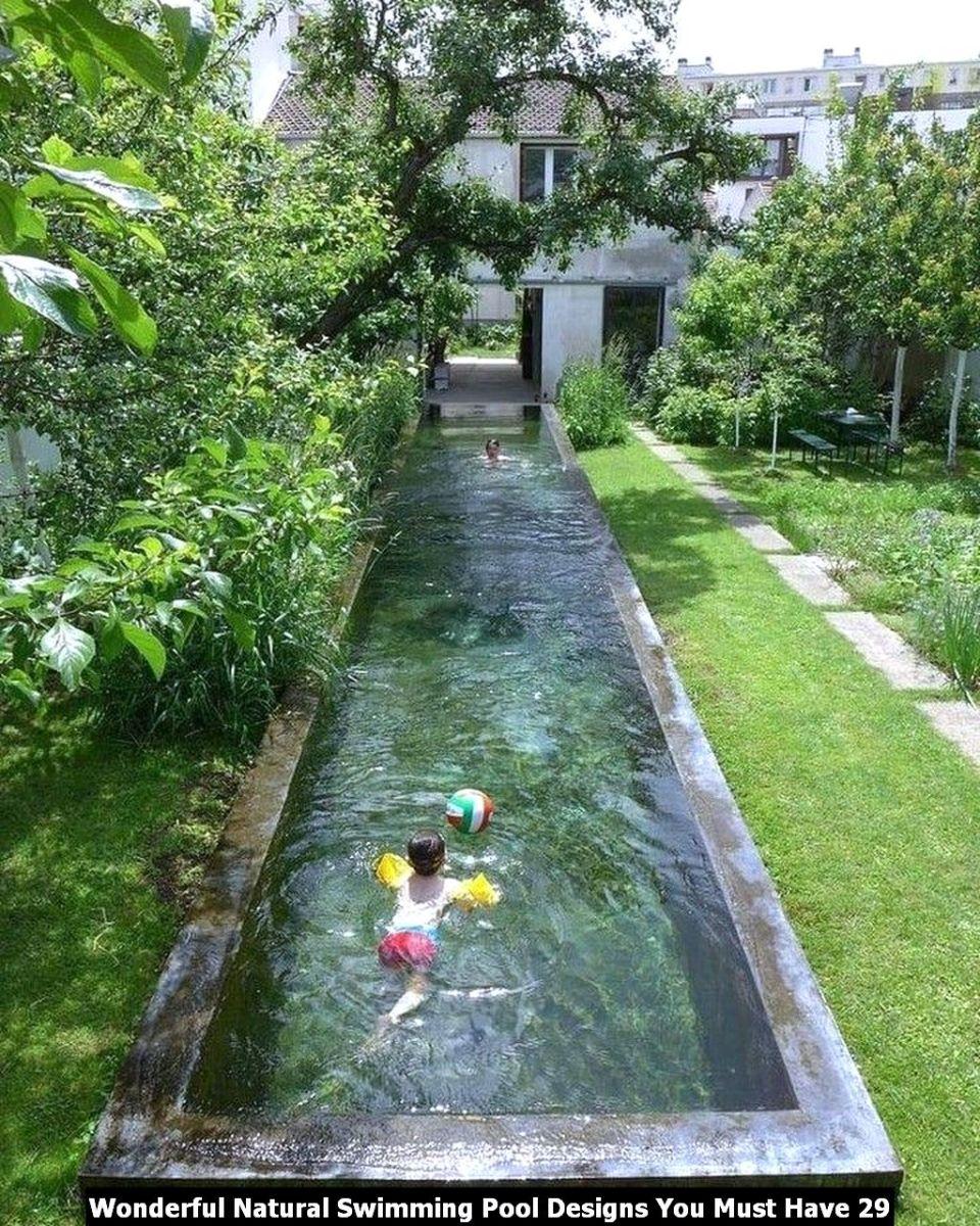 Wonderful Natural Swimming Pool Designs You Must Have 29