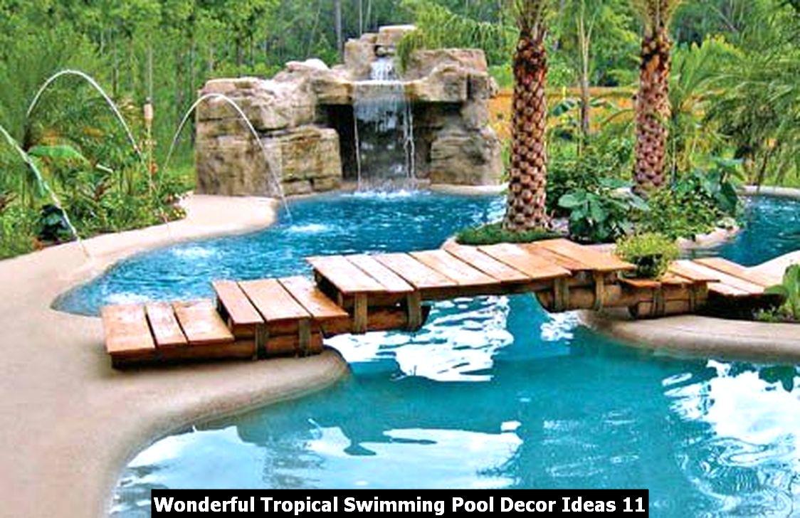 Wonderful Tropical Swimming Pool Decor Ideas 11
