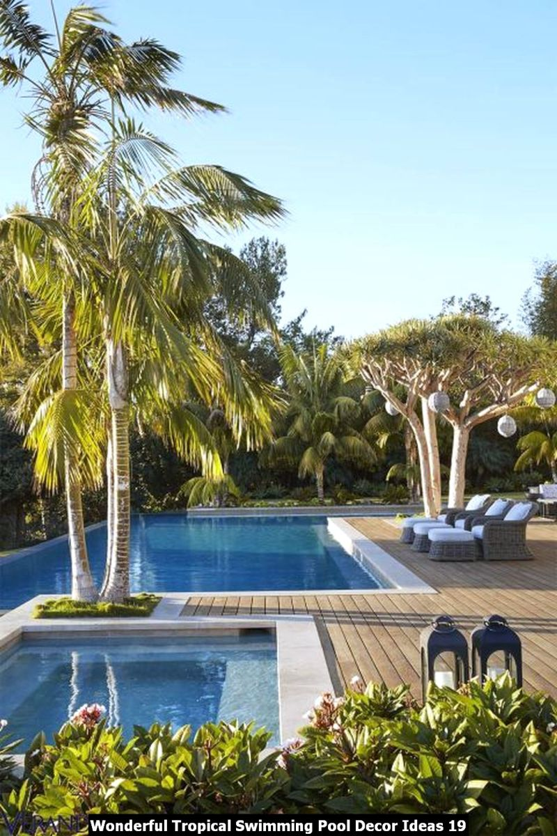 Wonderful Tropical Swimming Pool Decor Ideas 19