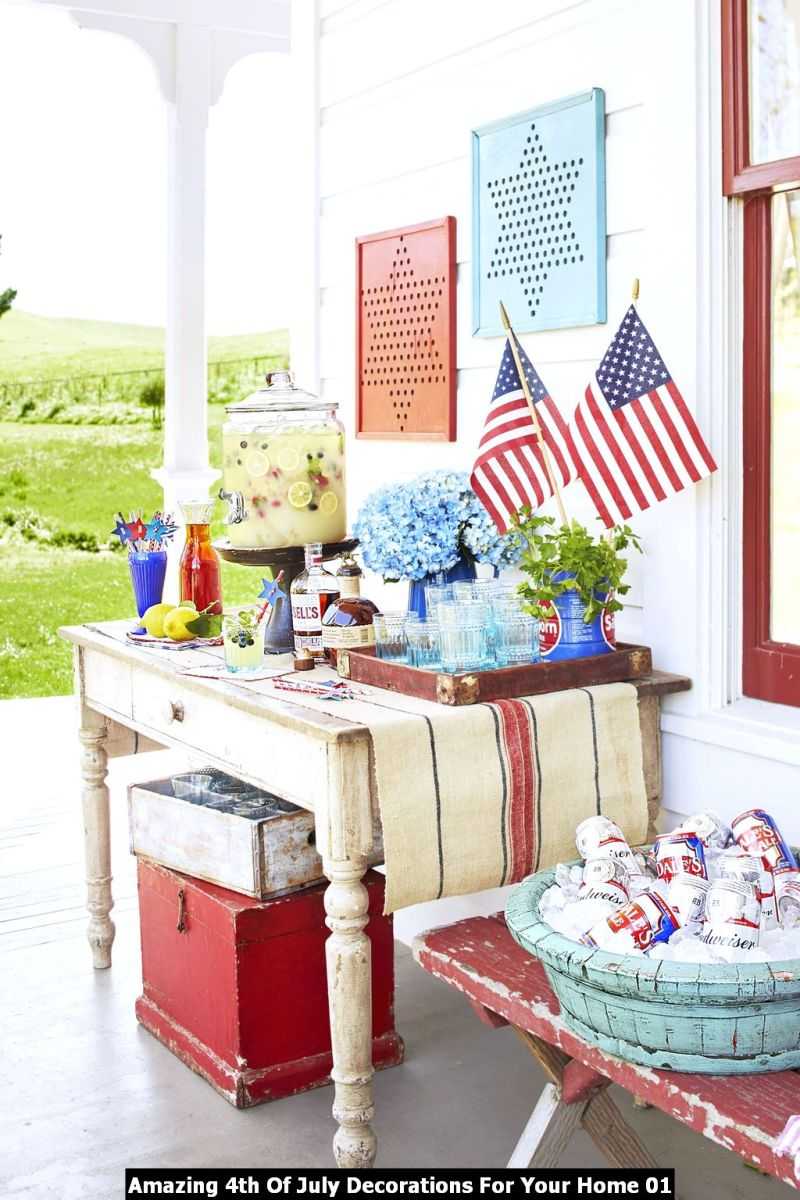Amazing 4th Of July Decorations For Your Home 01