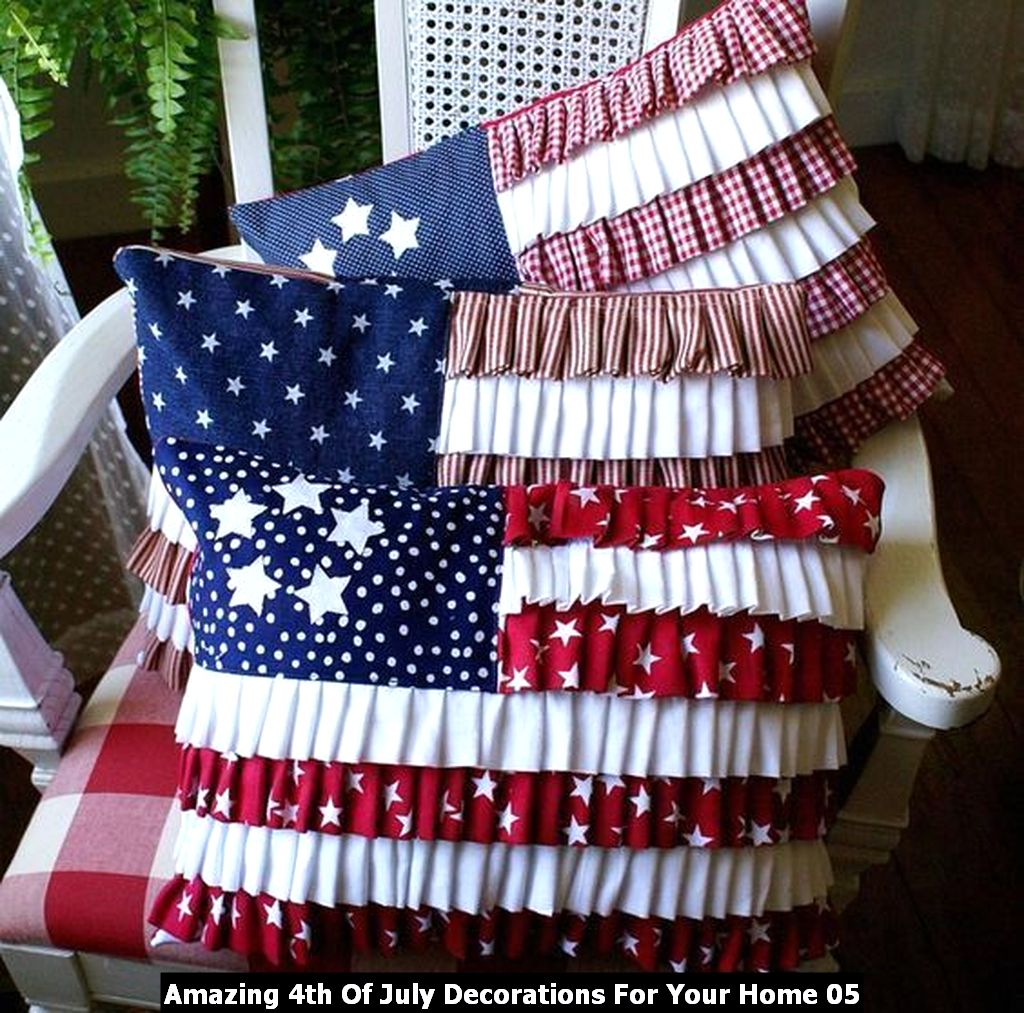 Amazing 4th Of July Decorations For Your Home 05
