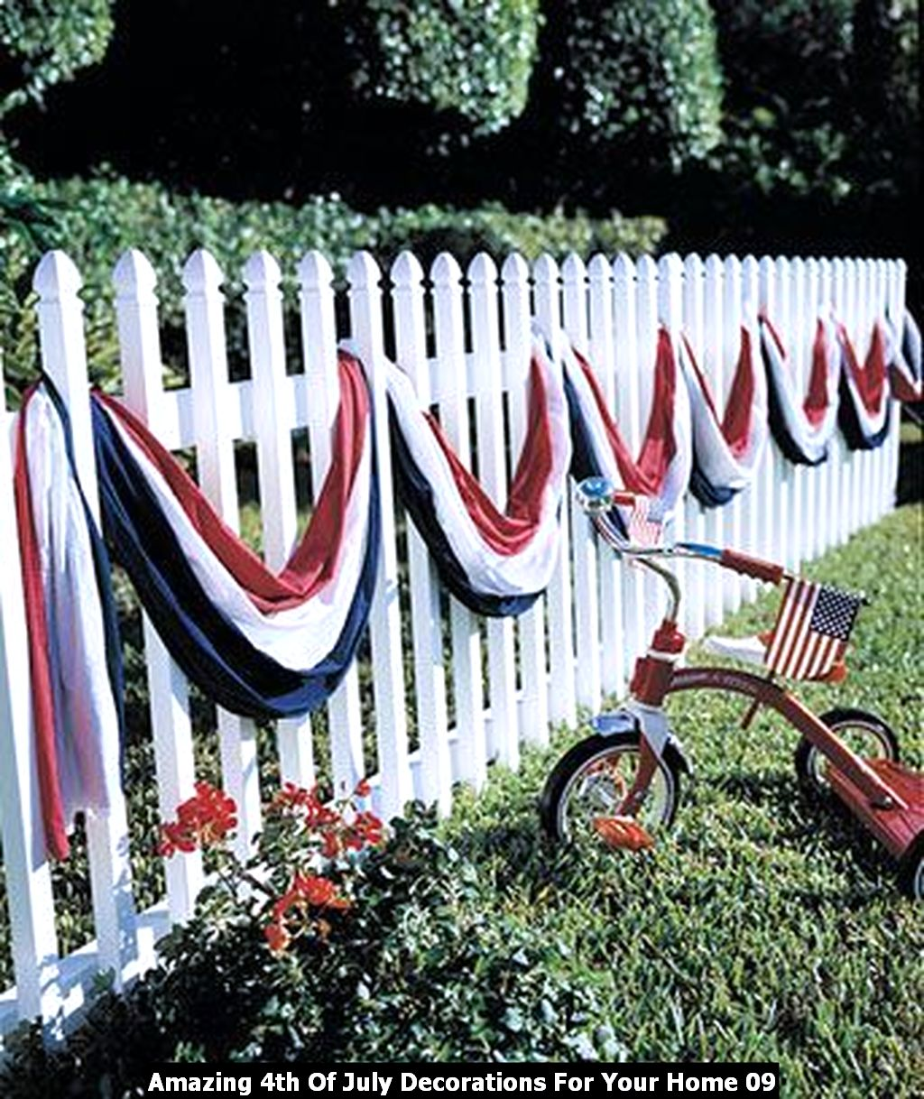 Amazing 4th Of July Decorations For Your Home 09