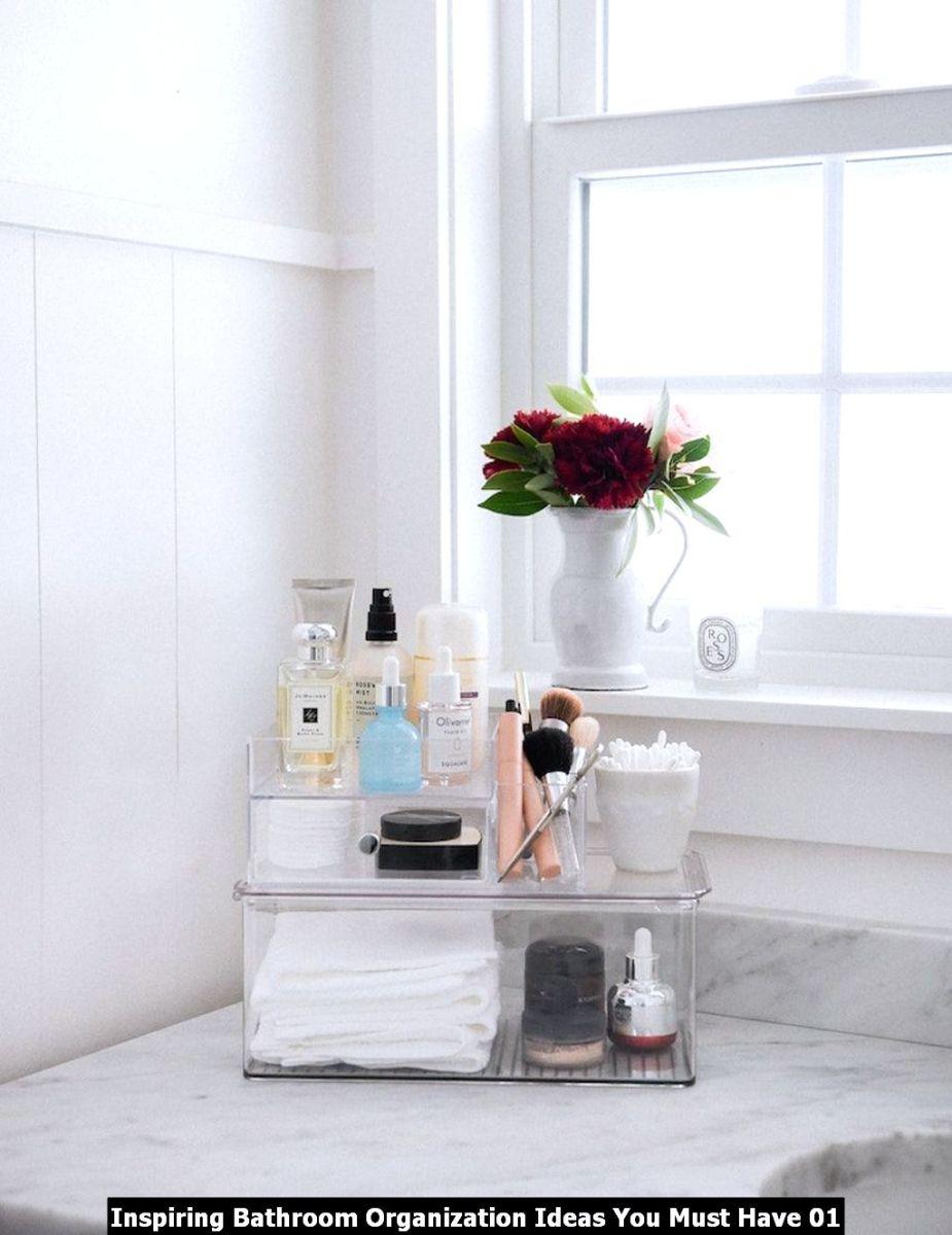 Inspiring Bathroom Organization Ideas You Must Have 01
