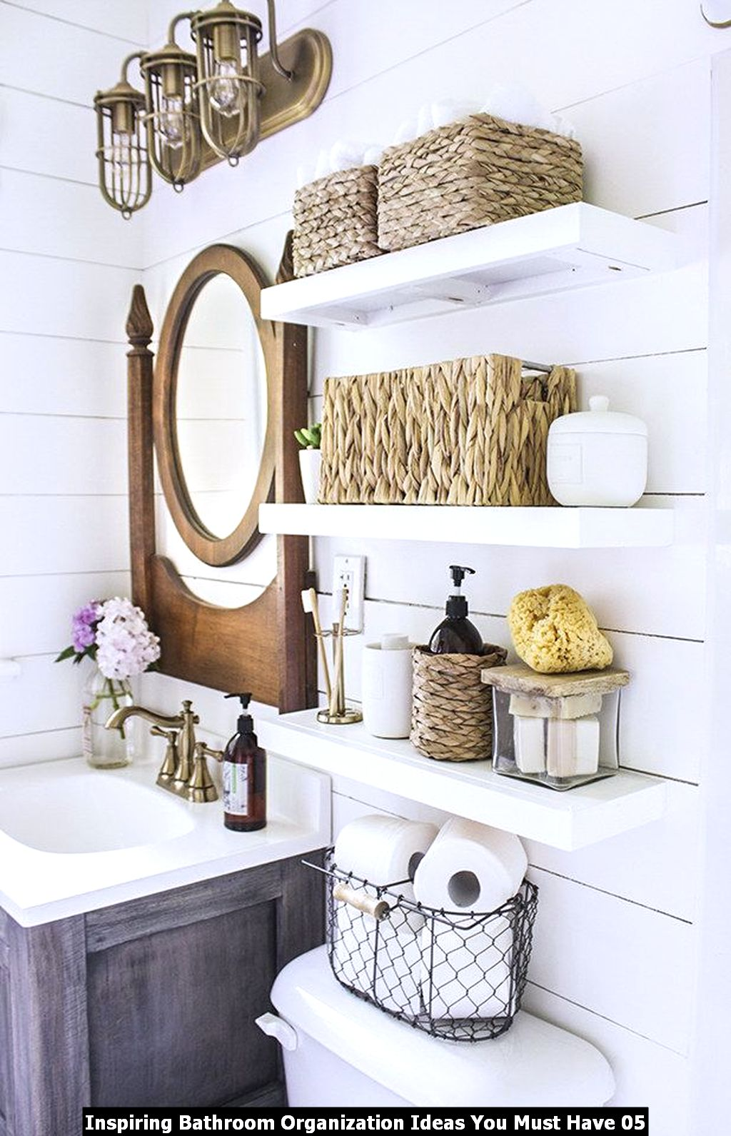 Inspiring Bathroom Organization Ideas You Must Have 05