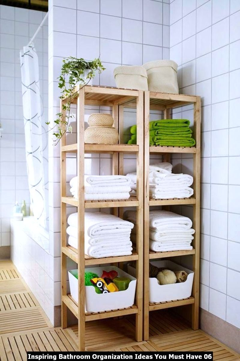 Inspiring Bathroom Organization Ideas You Must Have 06