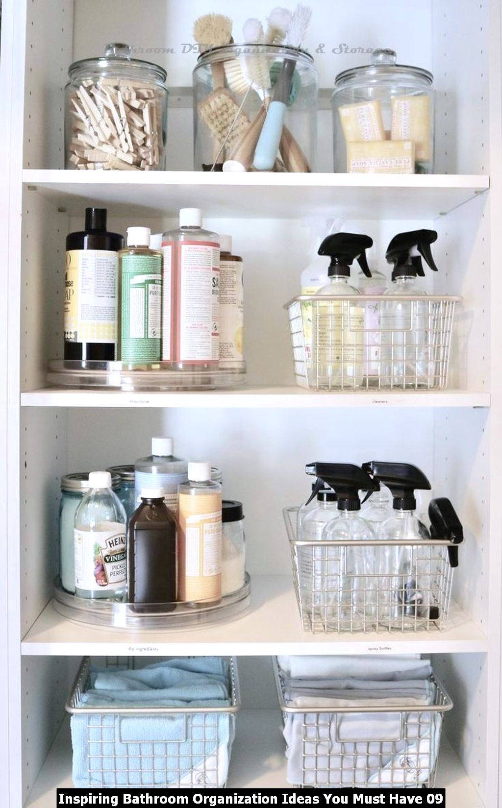 Inspiring Bathroom Organization Ideas You Must Have 09