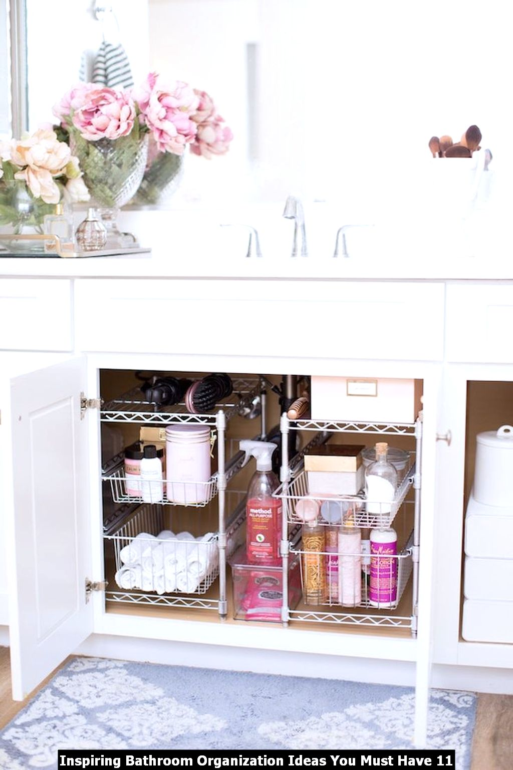 Inspiring Bathroom Organization Ideas You Must Have 11