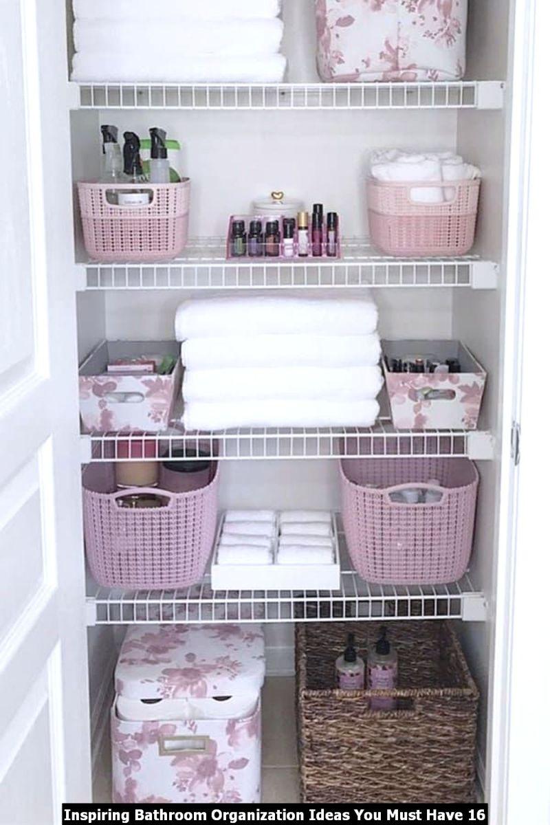 Inspiring Bathroom Organization Ideas You Must Have 16