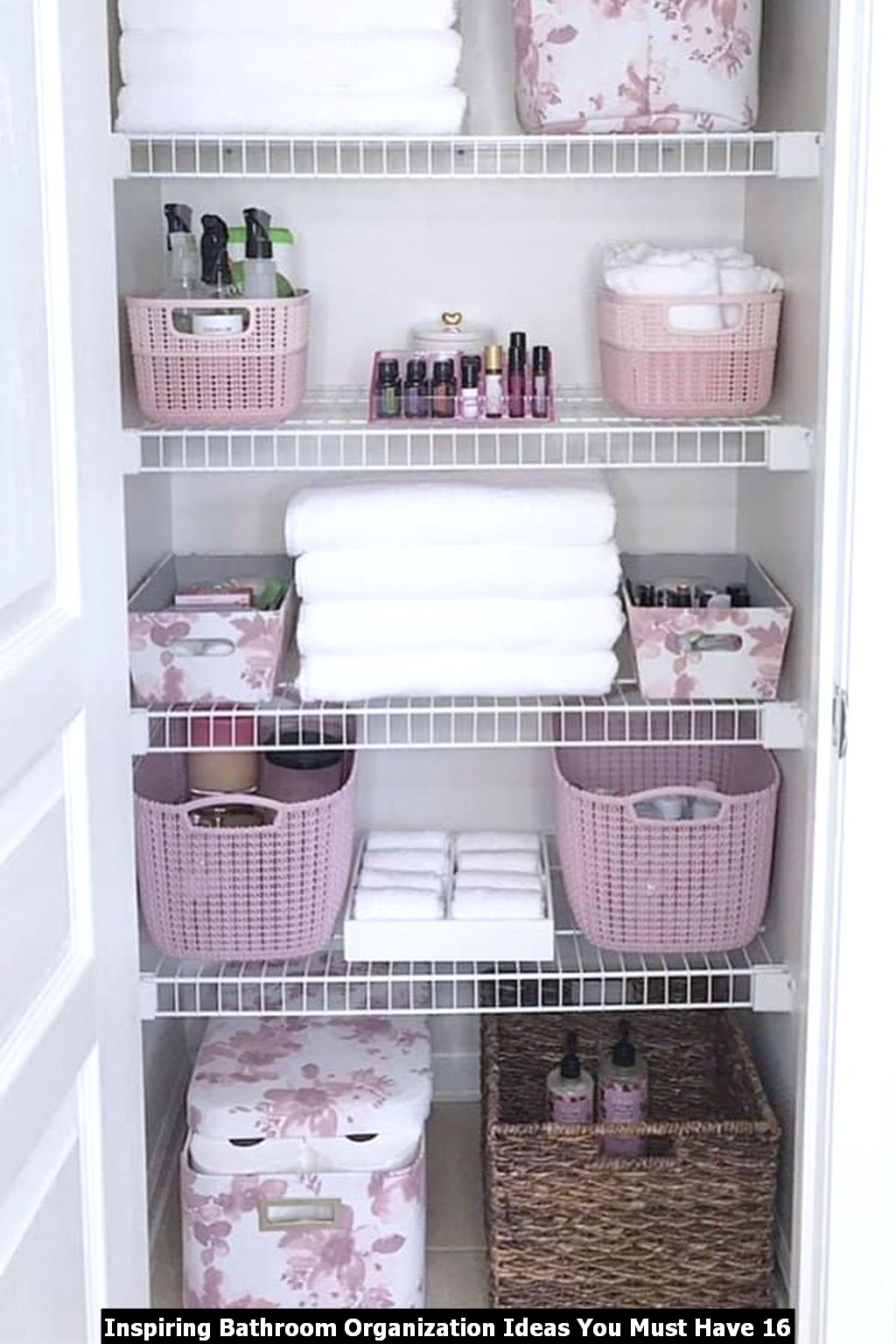Inspiring Bathroom Organization Ideas You Must Have 16
