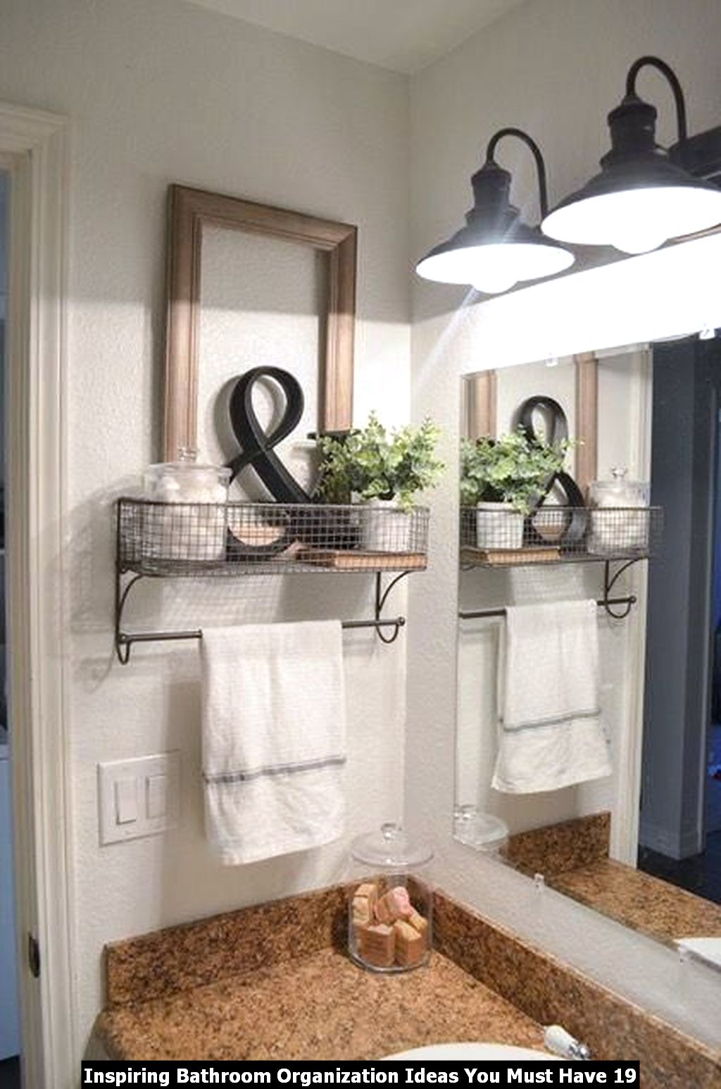 Inspiring Bathroom Organization Ideas You Must Have 19