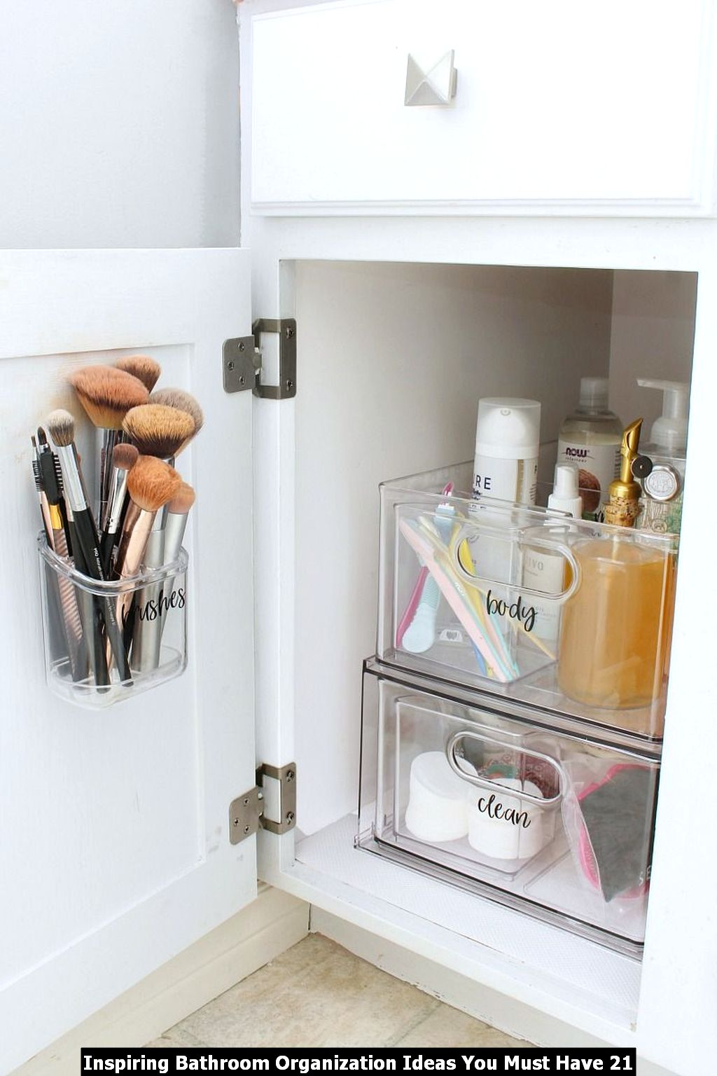 Inspiring Bathroom Organization Ideas You Must Have 21