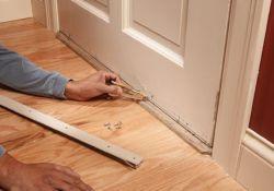 Exterior Door Bottom Seal Replacement