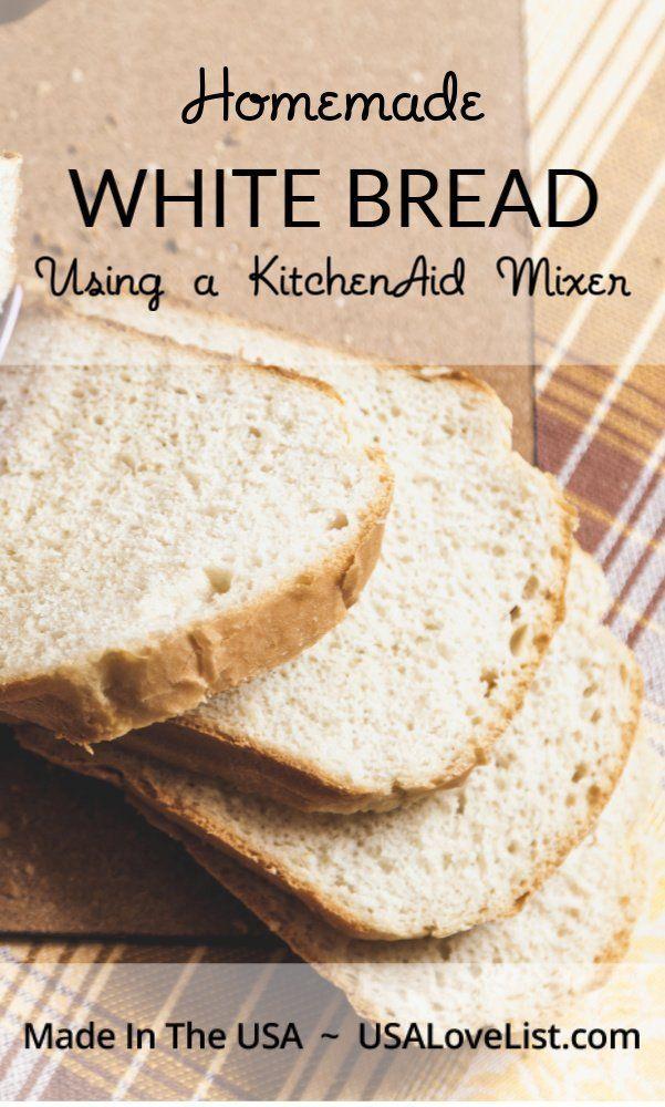 Kitchenaid Mixer Bread Recipes