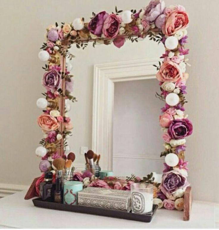 DIY Mirror Decorating Ideas