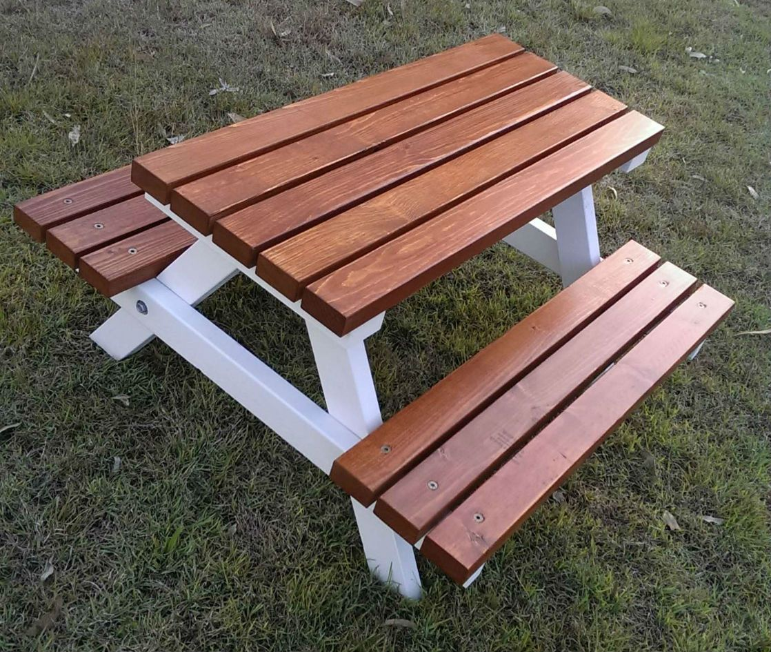 Kids Outdoor Picnic Table