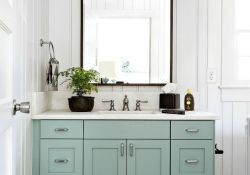 Bathroom Cabinet Colors