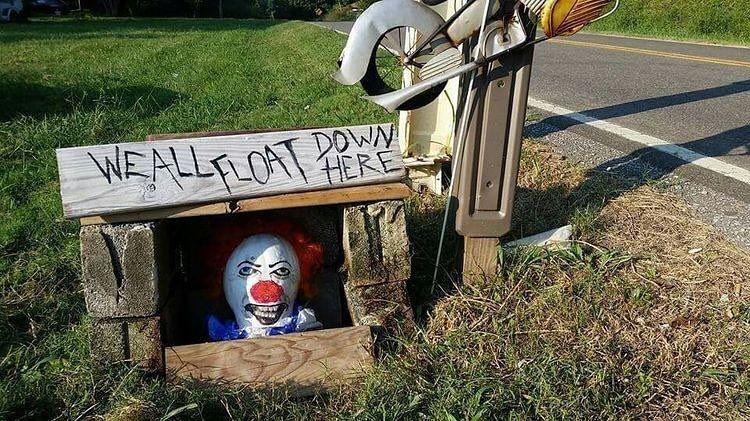 DIY Scary Outdoor Halloween Decorations