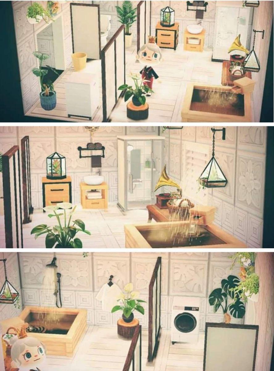 Animal Crossing Bathroom