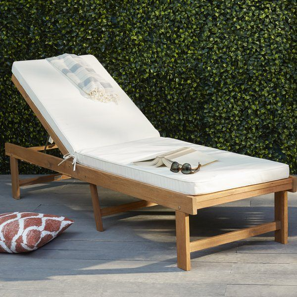 Reclining Chaise Lounge Outdoor