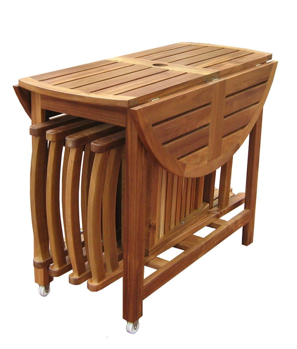 Outdoor Folding Table And Chairs