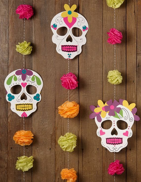Day Of The Dead Decorations DIY