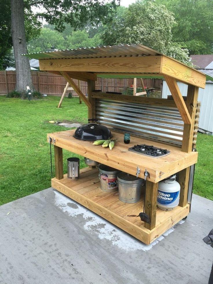 Low Budget DIY Outdoor Kitchen