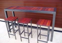 Outdoor Bar Table And Stools