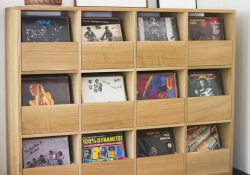 Vinyl Record Storage Furniture