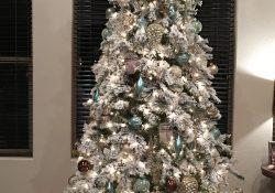 Flocked Christmas Tree Hobby Lobby