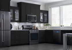 Black Stainless Steel Kitchen