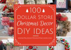 Dollar Tree Christmas Decorations DIY