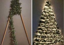 Flat Back Christmas Tree