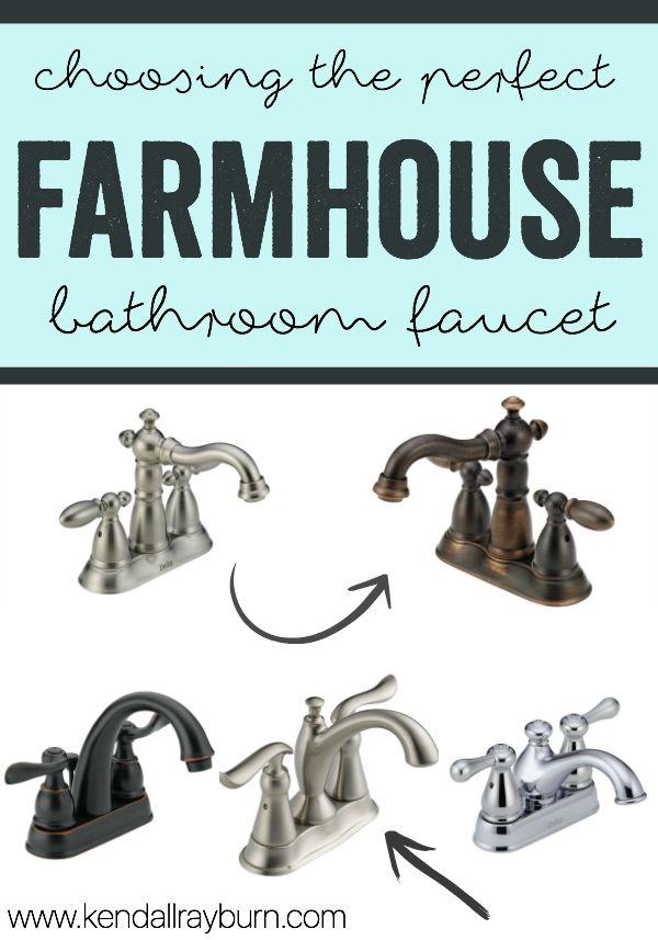 Farmhouse Bathroom Faucet