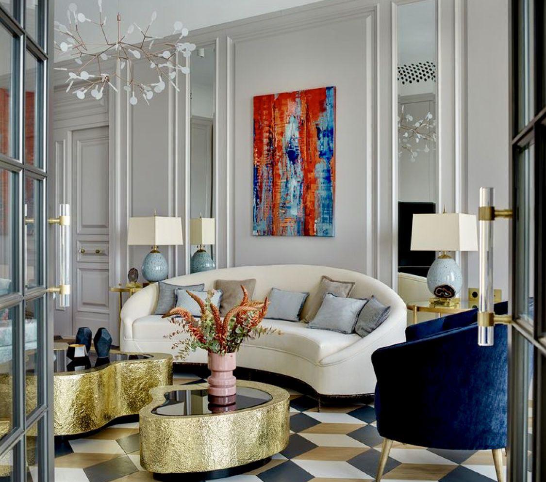 Art Deco Living Room