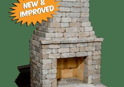 DIY Outdoor Fireplace Kits