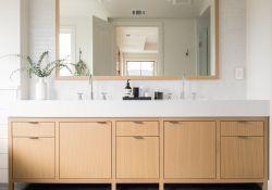 Light Wood Bathroom Vanity
